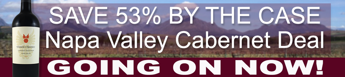 From $65 to $29.99 per bottle by the case, this Napa Valley Cabernet Deal is not one to miss!