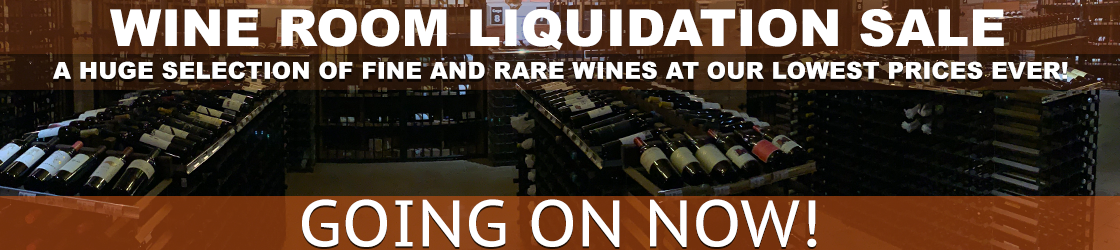 Wine Room Liquidation Sale