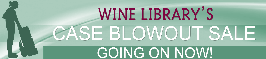 Wine Library's Case Blowout Sale